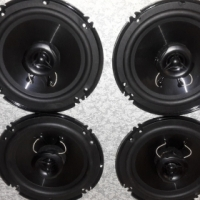 VW MP3 Player + 4 XTC 2way 6inch speakers