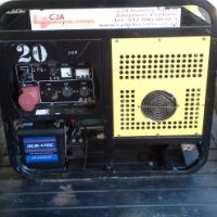 Generator 10 KVA 380 and 220 volt on Trailer