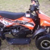 Mini Quads , Mini Scramblers , Pocket Super Bikes, Spares and Repairs.