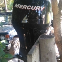 Mercury Fourstroke 100HP Outboard Motors x 2