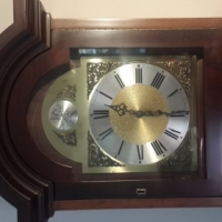 Grandfather Clock with silent / chime feature Tempust Fugit
