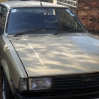 Toyota Corolla lift back 2 door 1.8 SE 1982 model