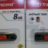 Transcend 8-GB USB Memory Stick...Deal for 1-week only