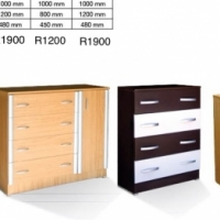 Wardrobes and Chest of drawers