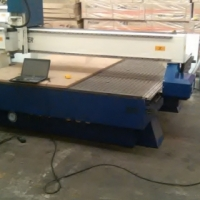 ps 2mx3mx6kw italian aircooled spindle with double ac servo motors routers