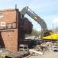 demolishing & rubble remover