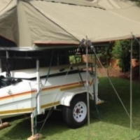 Venter Voyager Trailer With Tent For Sale