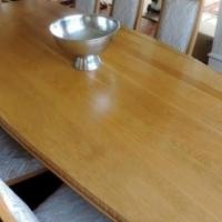 Solid oak diningroom suite & Welsch dresser