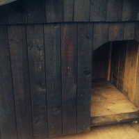 DOG KENNEL - HUGE AS NEW