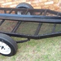 Single bike trailer