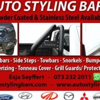 Nudge Bars, Rollbars, Side Steps, Towbars and Tonneau Covers Ranger Grills, Light Protectors ect