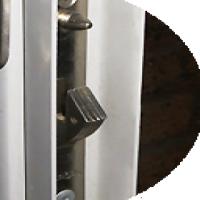 DIY trellis doors