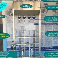 AVI Pack 2 - 4 head filler bottling filling machine