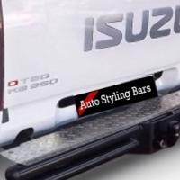 Isuzu 2013+ Towbar - Double Tube Full Step - Special