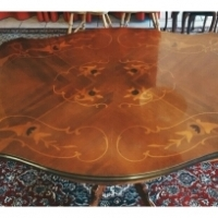 Walnut antique dining table