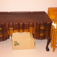 Imbuia dresser cabinet