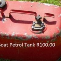 Boot petrol tenk te koop