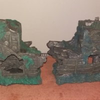 Sunken ship ornament for sale