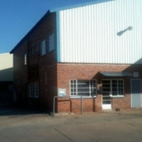Industrial warehouse space for rent in Robertville.