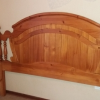 Headboard and bedside tables for sale