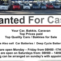 Wanted for cash    We buy cars for Cash
