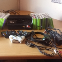 XBOX 360 4GB with Kinect and lots of other stuff