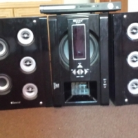 Ecco Music system & Sakyno DVD player
