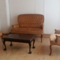 Antique Furniture for Sale: French Bergere Chairs (3 Piece)
