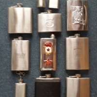 Whiskey Stainless Steel Flasks