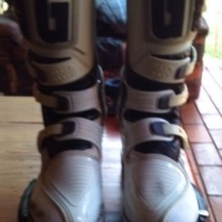 Gaerne Supermoto Off-road Boots Used Size 8