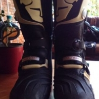 Thor Quadrant Off-road Boots Used Size 8