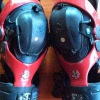 Asterisk Cell Knee Braces Used Pair Medium Used
