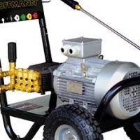 Brand new Hoffmann complete Single phase Industrial High Pressure washer with accessories for Sale..