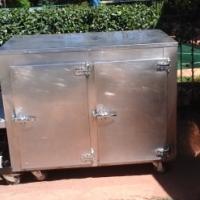 Commercial Underbar Fridge 2 Door (Stainless Steel)
