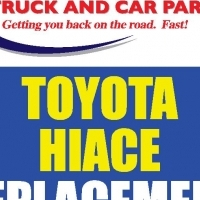 HIACE Commuter Mechanical Spares and Body Parts AND Glass!