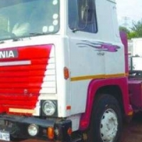 Scania D/Diff Mechanical Horse V8 Motor