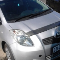 Used Toyota Yaris T3 Engine Capacity 2007 Model with 5 Doors Factory A/C and C/D Player, Central