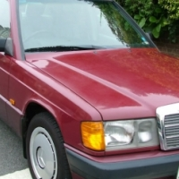 Mercedes Benz, 190E, W201, 1990 Model Stripping for Spares