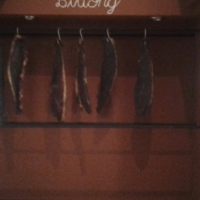 BILTONG AND DRY WORS THREE PIECE SHOW CASE