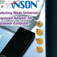 Jansen switching mode universal regulated adaptor for notebook computers Still boxed Never opened R5