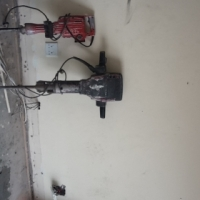 Heavy duty breaker and one medium breaker and chipper