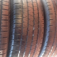 5xContinental CrossContact LXtyres265/60/18,2almost as new,2x50percent
