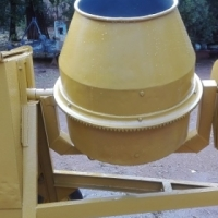 400l Concrete mixer heavy duty with Robin petrol engine