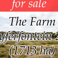 The Farm Zyferfontein 293 - Measuring: 1713.0640 ha (Groot Marico Area)