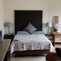 Upmarket fully furnished suite in Security complex