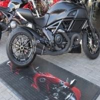 Motor Bike Printed Mat