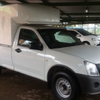 2012 Isuzu KB250 Fleetside LWB Diesel with Canopy