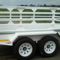 """Brand new 3m/1.5/1m doublewheel """"14"""" tyres  1.5 ton. Papers included"""