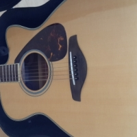 Beautiful Yamaha FSX720SE Acoustic Guitar & Hard Case for Sale/Trade