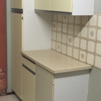 Kitchen built in cupboards
